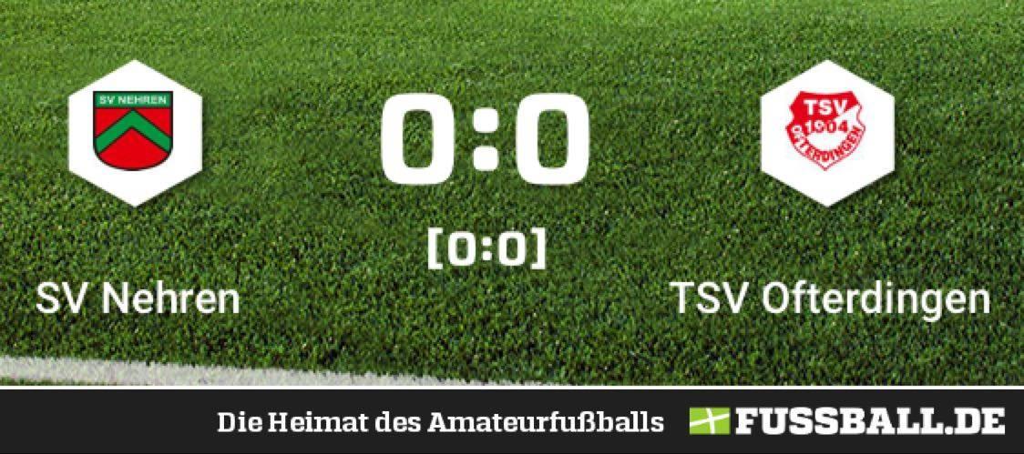 SV Nehren – TSV Ofterdingen 0:0