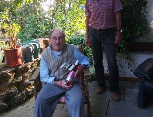 Herzlichen Glückwunsch zum 95. Geburtstag