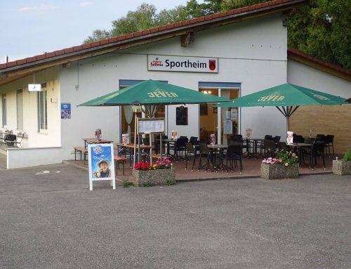 Sportheim Nehren wieder geöffnet!