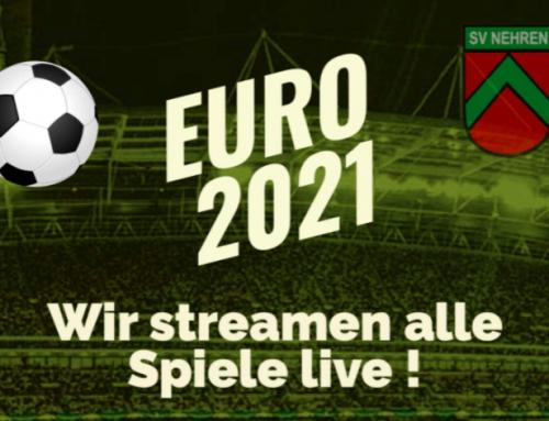 Alle EM-Spiele Live im Sportheim Nehren