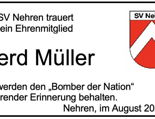Nachruf Gerd Müller